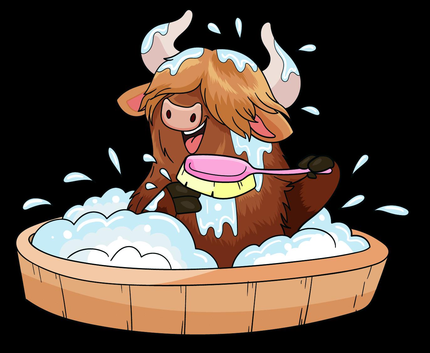 Yolanda The Yak! Bath Time