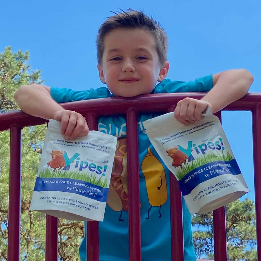 Natural Cleaning Wipes for Children